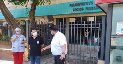 La Nación / Habilitan sede de cooperativa para vacunatorio en Lambaré