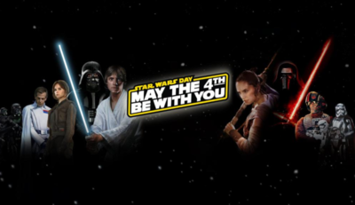 Día de Star Wars: 'May the 4th be with you'