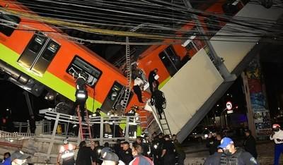 Desplome de metro en México deja 23 muertos y 65 hospitalizados