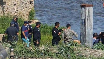 Hallan cuerpo de joven desaparecida en el río Paraguay