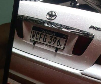Roban automóvil del Hospital Distrital de Minga Guazú