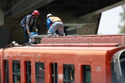 El presagio de un accidente temido por vecinos y usuarios del metro mexicano