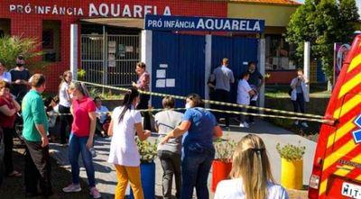 Un joven invade guardería en Brasil, mata a 5 personas e intenta suicidarse