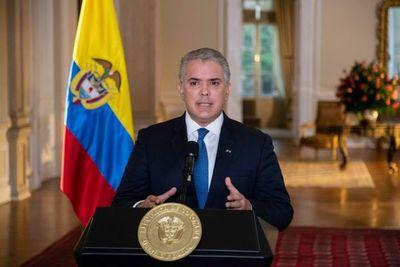 """Duque convoca a un diálogo sin """"diferencias ideológicas"""" ante las protestas"""