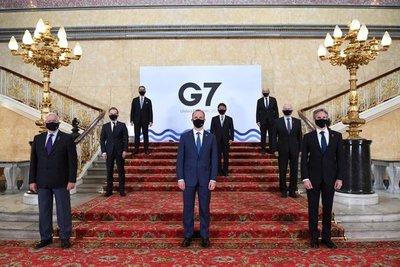 El G-7 busca unidad frente a China en la primera reunión presencial desde el inicio de la pandemia