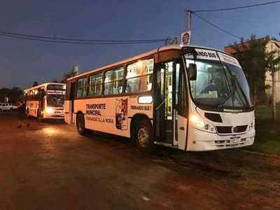 Fernando de la Mora: Plan piloto de buses será ampliado en junio