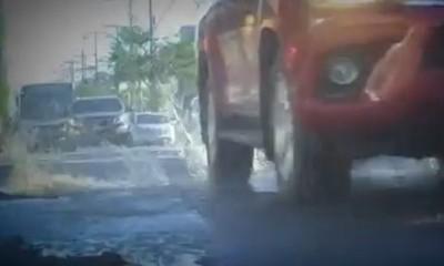 Asunción, Madre de Baches: Abundantes y peligrosas trampas callejeras