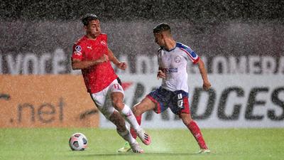 Los goles del empate 2-2 entre Bahía e Independiente de Avellaneda