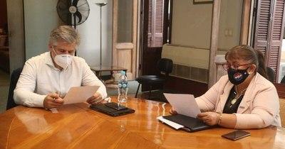 La Nación / Analizan convenio entre el SNPP y el Ministerio del Interior para capacitar a funcionarios