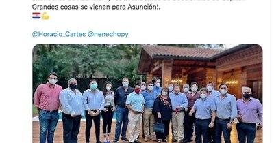 """La Nación / Destacan la buena gestión de """"Nenecho"""""""