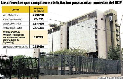 Engineering está detrás de millonario contrato para acuñar monedas del BCP