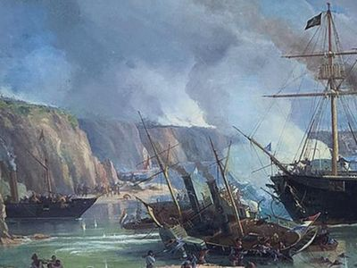 Batalla de Riachuelo  llega con la colección sobre   Guerra Guasu