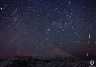 Gran lluvia de estrellas se podrá ver el jueves en nuestro país
