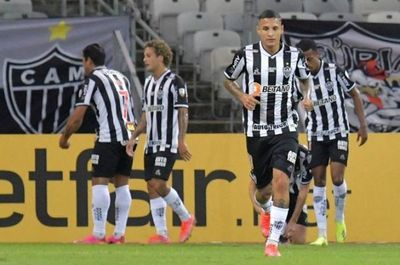 Cerro Porteño cae por goleada ante Atlético Mineiro