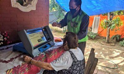 Jornada de verificación Voto en Casa se realizó en 8 barrios de Luque