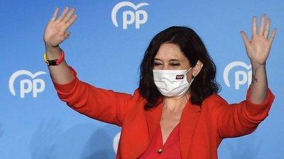 El Partido Popular logró una amplia victoria en las elecciones regionales de Madrid