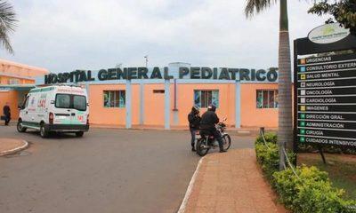 Hospital Pediátrico Acosta Ñu registra 10 internados con COVID