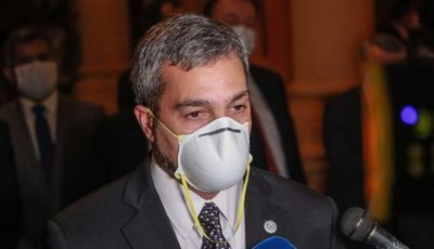 Mario Abdo presenta proyecto de ley que modifica Código Sanitario