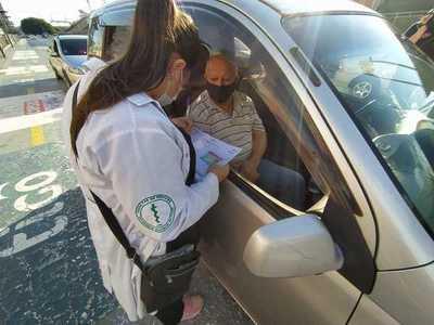 «AUTOVAC» SE SUSPENDE JORNADA DE VACUNACIÓN EN ESTA MODALIDAD