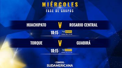 Con cinco partidos continúa la fecha 3 de la Copa Sudamericana