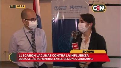 Llegaron a nuestro país las vacunas contra la influenza