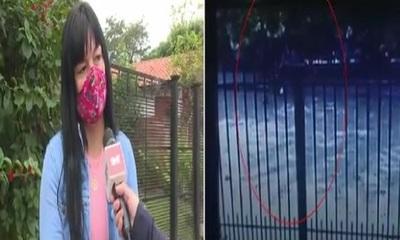 Motochorros atacaron en una parada de colectivo en Luque