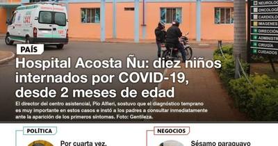 La Nación / LN PM: Las noticias más relevantes de la siesta del 5 de mayo