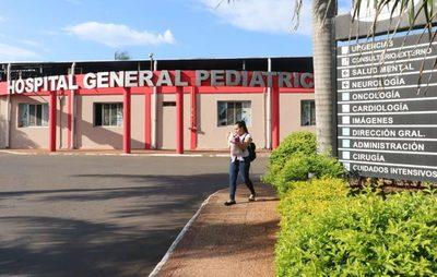 Aproximadamente 12 menores están internados por Covid en el Hospital de Acosta Ñu