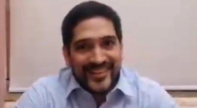 """Asesor de Mario Abdo invoca sonriente al stronismo y justifica proyecto arbitrario: """"Y... es 4 de mayo"""""""