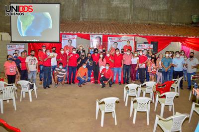 En la seccional 7 intensifican campaña a favor de Núñez Intendente
