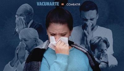 Salud lanza campaña de vacunación contra la influenza
