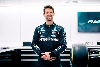 Versus / Grosjean y la promesa cumplida de subir a un Mercedes