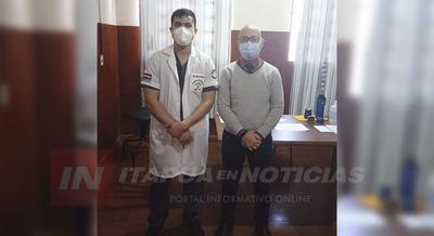 TRAUMATÓLOGO SE SUMA AL HOSPITAL DE NATALIO.