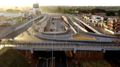 Multiviaducto de CDE habilitado al tránsito vehícular