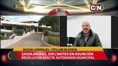 Gasolineras, sin límites en Asunción.