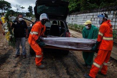 """Paraguay """"disputa"""" a Uruguay la tasa más alta de muertes por Covid en la región"""