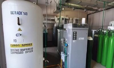 IPS recarga balones de oxígeno para hospitales