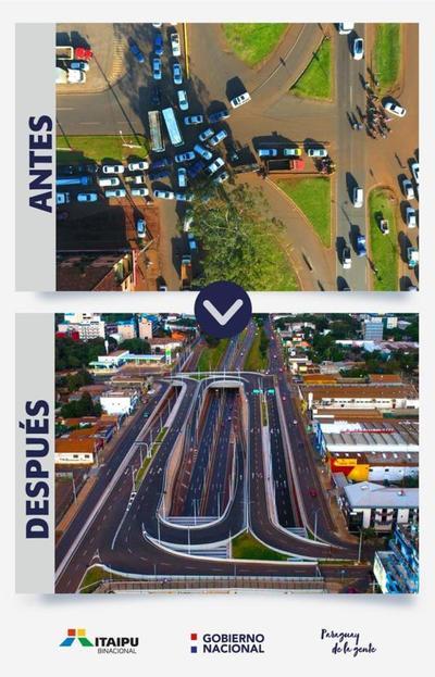 Habilitación parcial del Multiviaducto de CDE a pedido de esteños