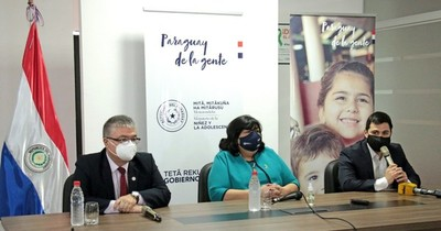 La Nación / Ministerios presentaron plataforma de registro de Niños en situación de orfandad a causa del COVID-19