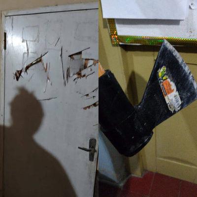Imputan a un hombre que ingresó a una vivienda con hacha en mano para robar