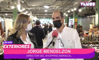 Feria de emprendedores del Shopping Mariscal