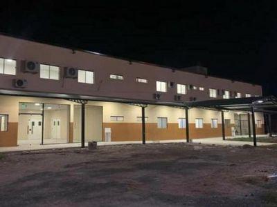 Puerto Casado  tiene hospital concluido, pero sin equipos
