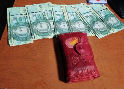 Detienen a un adolescente que intentó hurtar una billetera
