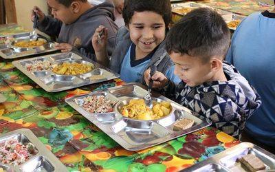 Adjudican almuerzo escolar en CDE
