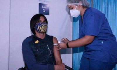 Comienza vacunación de jugadores de Primera