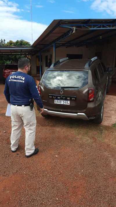 Incautan en CDE camioneta robada en Brasil que contaba con chapa y documentos apócrifos