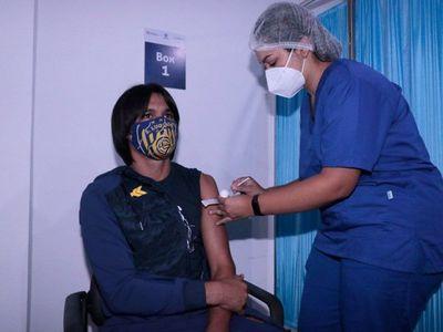 Sportivo Luqueño, el primer inmunizado contra el Covid-19