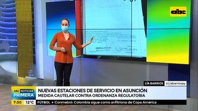 Cuatro pedidos para nuevas estaciones de servicio en Asunción
