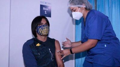 Gracias a la CONMEBOL, la APF inició campaña de vacunación contra el COVID-19
