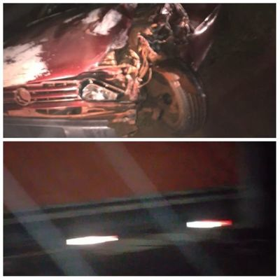 Automovilista resultó con lesiones tras colisionar con camión sobre la Ruta PY05